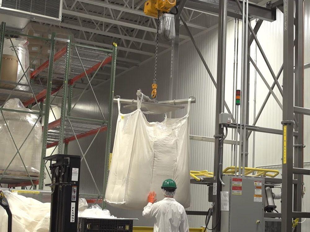 Produktionseinheiten -Powder production