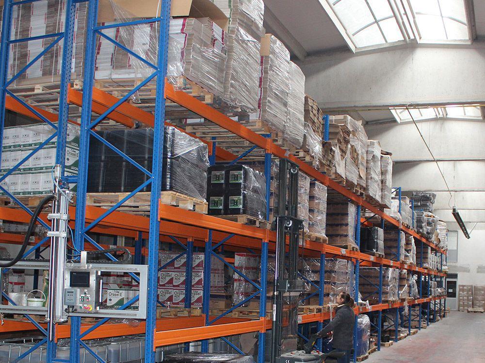 Produktionseinheiten -Storage area