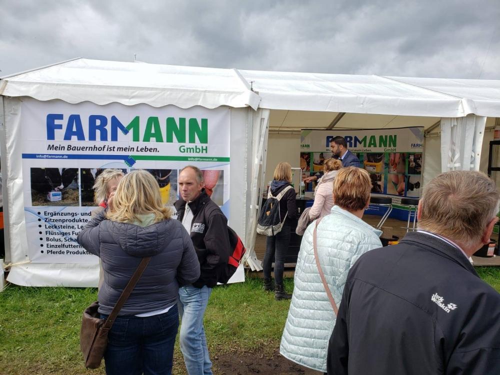 Norla Messe 2019 -Wir sind in der Norla Messe, unser Stand wird von den Landwirten besucht, wir beraten auch gerne bei Anfragen. Unser Farmann Stand zieht Intensives Interesse an.