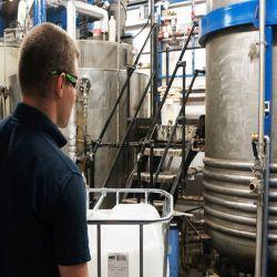 Manufacturing acid alkaline