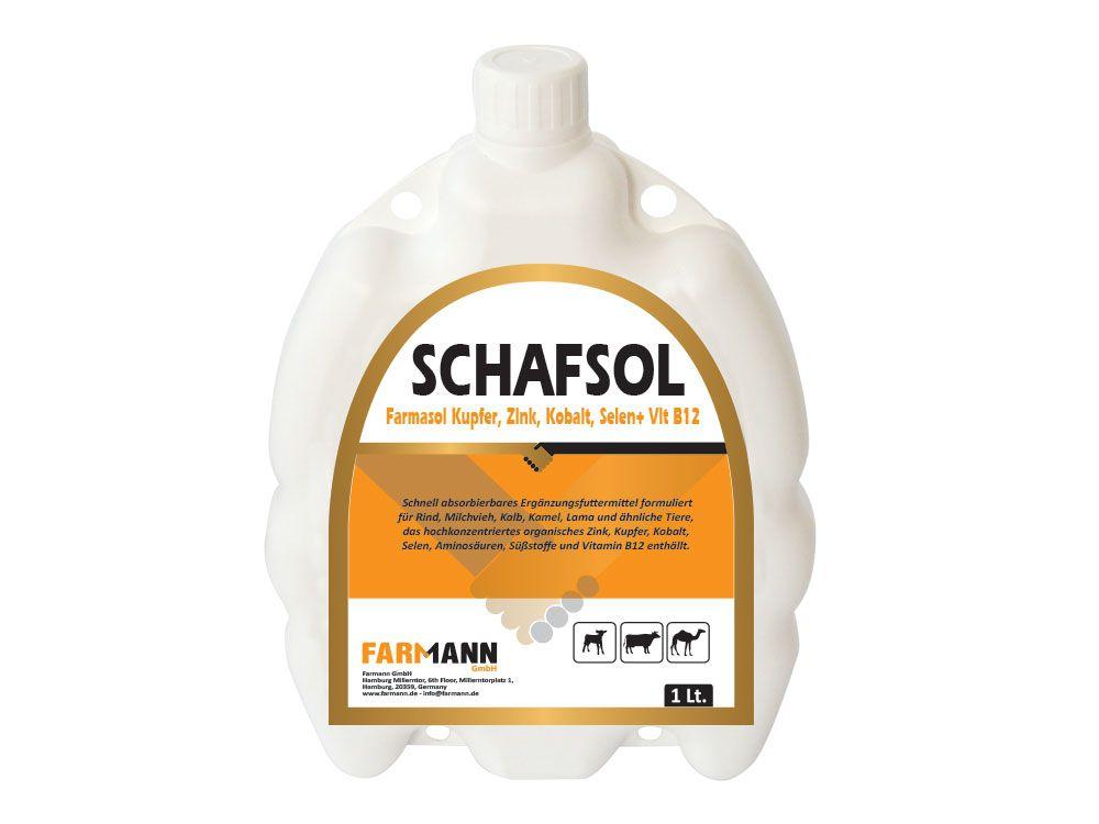 Schafsol Kupfer, Zink, Kobalt, Selen+ Vit B12